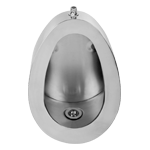 steel urinal pan icon