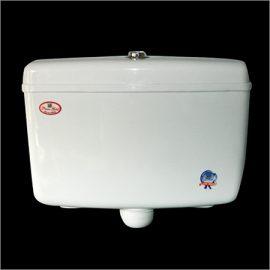 Centre Push flushing cistern tank image