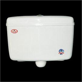 Toilet flushing cistern tank image