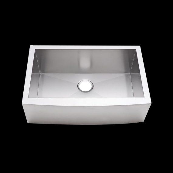 single bowl straight sink